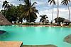 印度洋边上的游泳池