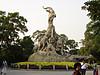 越秀公园五羊—广州标志