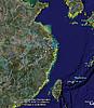 诸暨卫星地图一