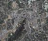 诸暨卫星地图三