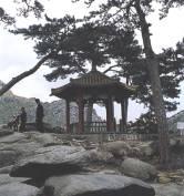 旷观亭、龟背石