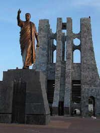 恩克鲁玛塑像