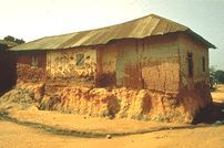 阿散蒂传统建筑