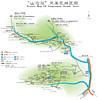 杭州山沟沟风景区地图