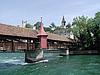 瑞士卢塞恩施普罗伊尔桥(Spreuer Bridge)
