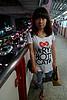 曼谷BTS天桥上